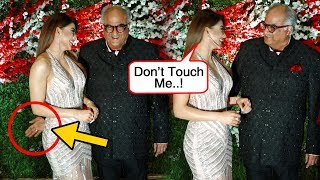 Boney Kapoor Touches Urvashi Rautela INAPPROPRIATELY In Public