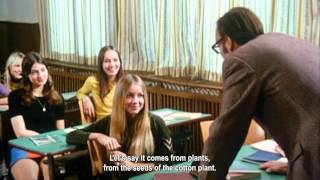 Repeat youtube video 'Schulmädchen-Report 3. Teil' (1972) - classroom scene