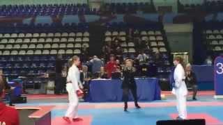 Варвара Шебанова (полуфинал) - 2 место.
