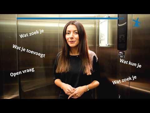 Hoe maak je een elevator pitch met voorbeeld
