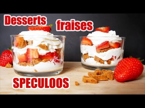 desserts-fraises-speculoos-facile-et-rapide-🍓
