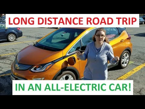 Long Distance Road Trip In The Bolt Ev Taking Electric Car On Vacation From Maine To Virginia