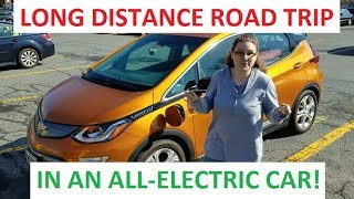 Long Distance Road Trip in the BOLT EV - Taking the ELECTRIC CAR on vacation from Maine to Virginia!
