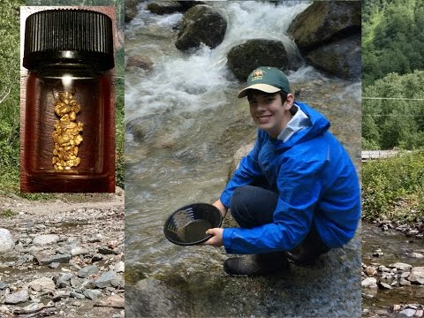 Mining In The Hills Of The Gold Rush - Gold Panning In Alaska!