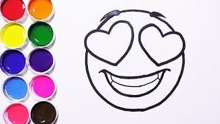 Cómo Dibujar y Colorear un Emoticon Apasionado / FunKeep