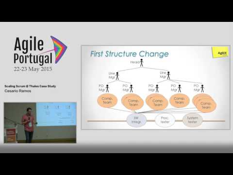 """""""Scaling Scrum @ Thales Case Study"""" by Cesario Ramos"""