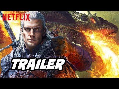 The Witcher Trailer - Netflix Episode Easter Eggs Breakdown
