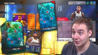 NBA Live 18 Ultimate Team STARTER PACKS! BEST PACKS FOR NEW NBA LIVE LUT PLAYERS!