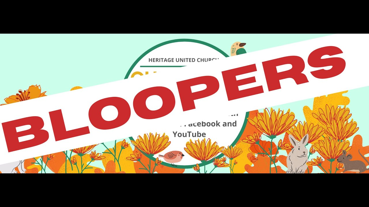 Children's Church Bloopers