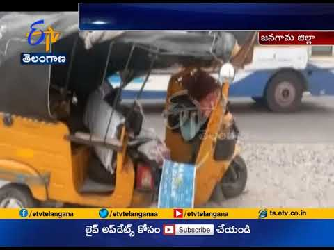 TV Anchor Lobo Injured in a Road Accident | at Nidigonda | Jangaon Dist