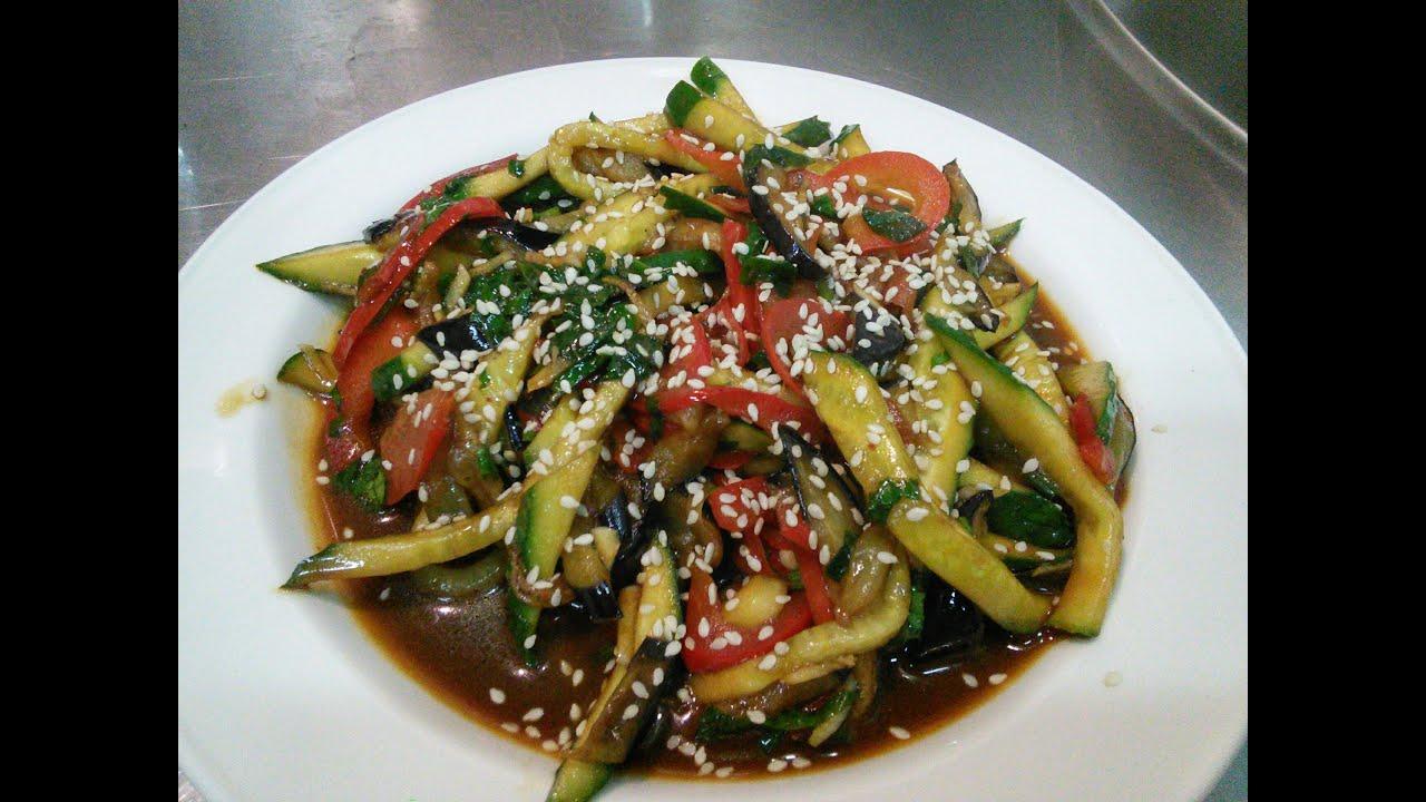 тайский салат с говядиной и кунжутом рецепт