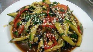 Тёплый салат 'Тайский '