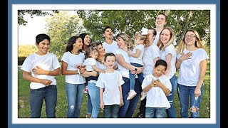 LARGE FAMILY PHOTO SHOOT WITH SPECIAL GUESTS