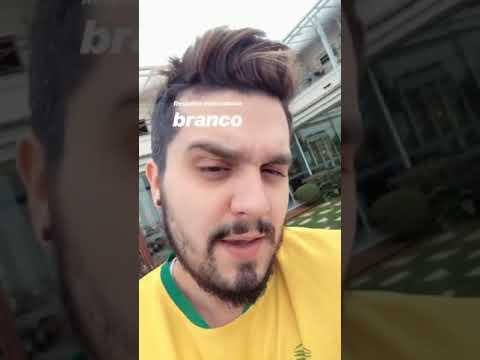Instagram Stories  Luan Santana torcedor Genkidama + Divulgação Justin Jesso 06072018
