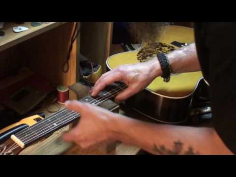 Blueridge br163 acoustic guitar some info on neck relief part 1of3