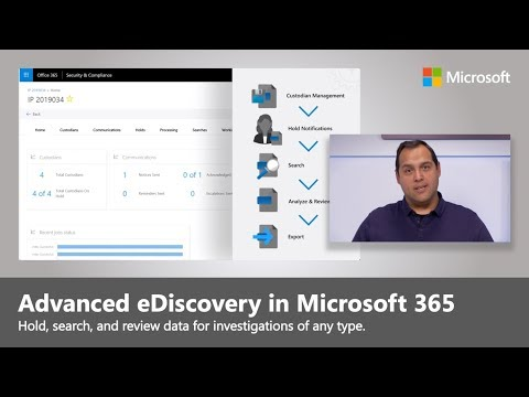 Now Do More With Advanced EDiscovery In Microsoft 365