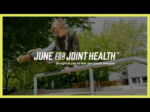 June for Joint Health, a Collaboration Between Sanofi Genzyme and NHF