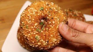 Crispy Potato Donuts,Aloo Donuts Recipe