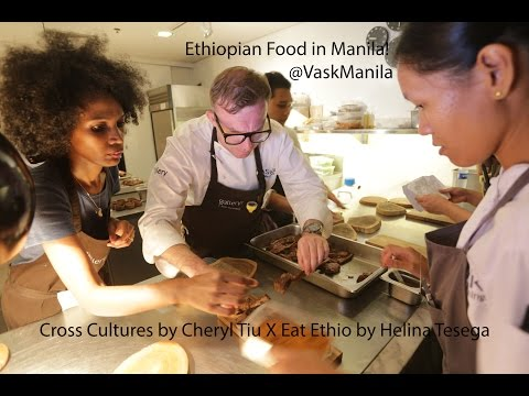 A Taste of Ethiopia in Manila! #crossculturesXeatethio by @CherylTiu @VaskManila