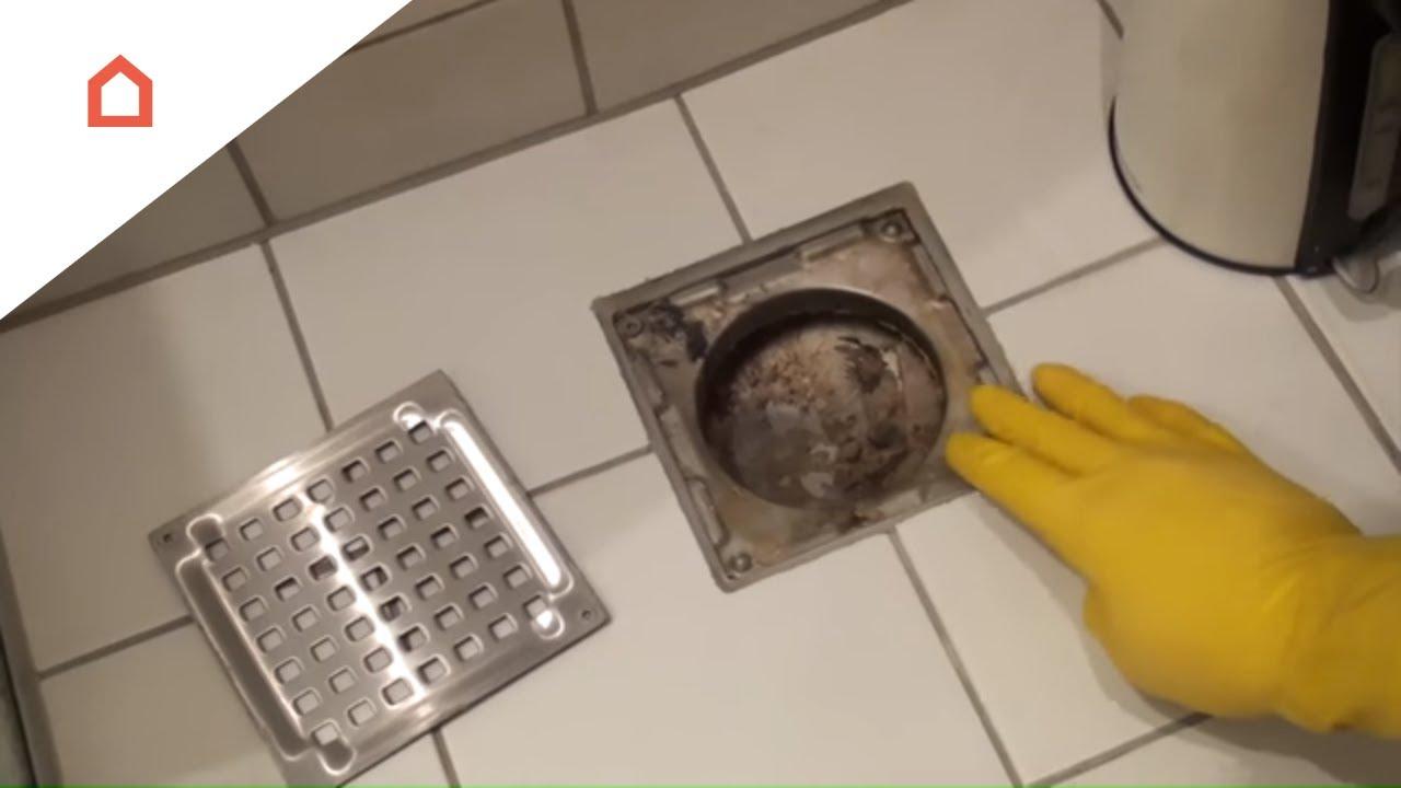 gulvafløb badeværelse Sådan renser du et stoppet gulvafløb   YouTube gulvafløb badeværelse