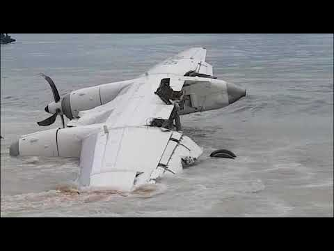 Côte d'Ivoire: crash d'un avion à Abidjan  avec 10 personnes à bord