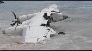 Côte d'Ivoire:: 4 morts et 6 blessés selon le premier bilan provisoire ce samedi matin, dans le crash d'un avion ukrainien qui a raté son atterrissage à l'aéroport Félix Houphouët-Boigny d'Abidjan ave