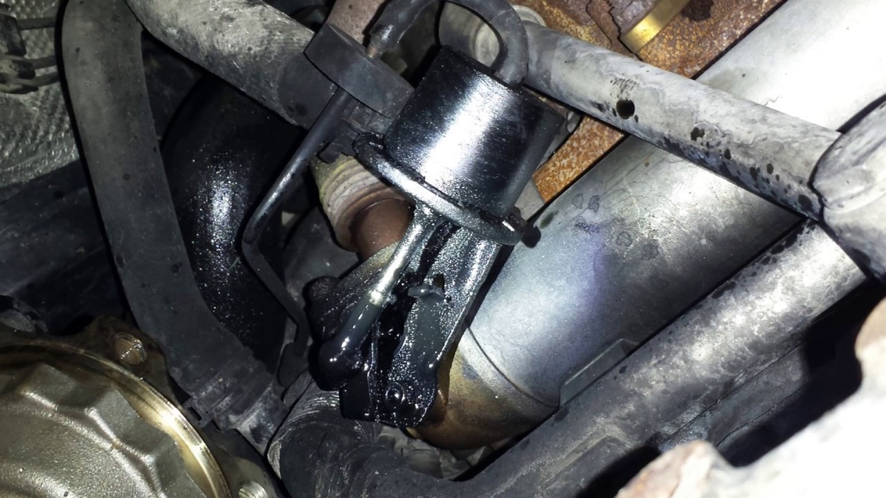 Vw Jetta Tdi Hissing Leaking Egr Cooler Valve How To