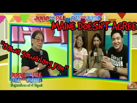 Joey De Leon's Opinion about Depression - Maine Mendoza Made a Stand - Eat Bulaga! [October 5 2017]