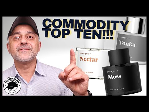 TOP 10 COMMODITY FRAGRANCES | MY FAVORITE COMMODITY PERFUMES RANKED