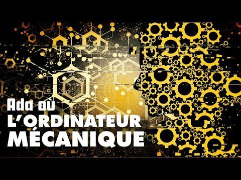 Ada lovelace & l'ORDINATEUR MÉCANIQUE / ft Florence Porcel