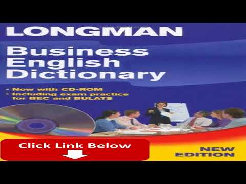 Business English Dictionary CD ROM