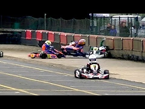 Super 1 British Karting Champs. 2018: Rd 2, Part 5, IAME Cadet