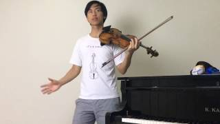 Violin Posture 101 How to Stand CORRECTLY when playing violin