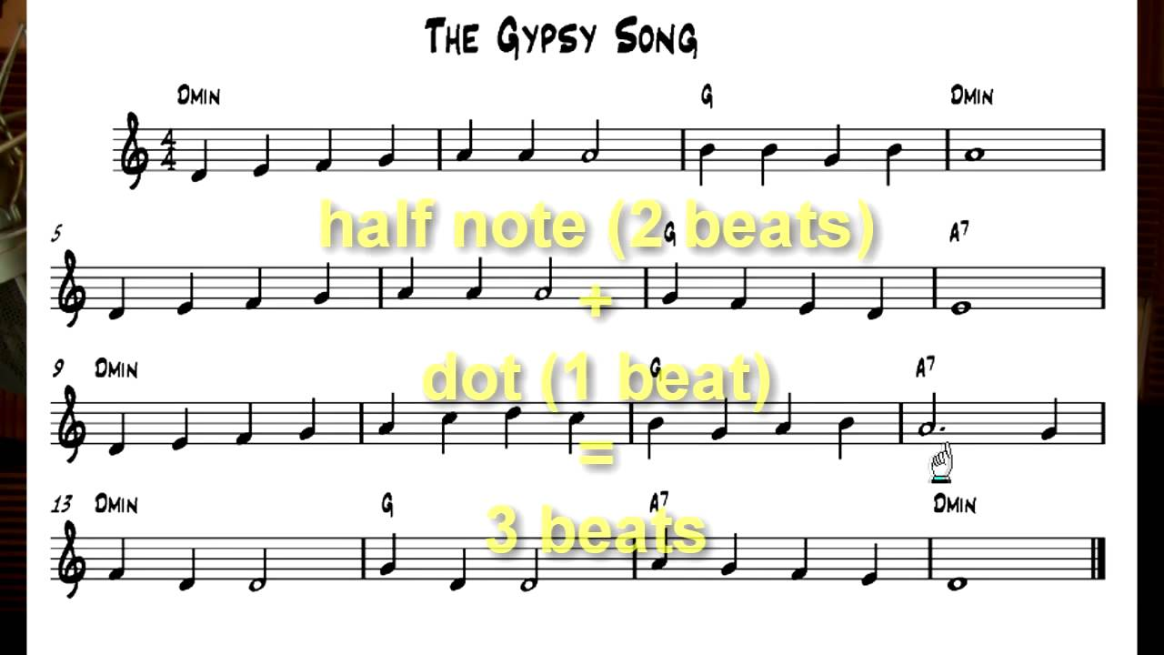 free beginning guitar lessons note reading 4th string gypsy song youtube. Black Bedroom Furniture Sets. Home Design Ideas