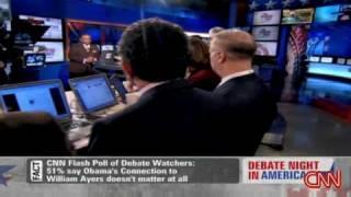 3rd Presidential debate panel : cnn