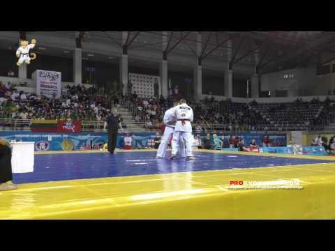 WKO EC 2016, 1/8 +85 Edgard Secinski (Lithuania, aka) - Dorin Margarint (Romania)