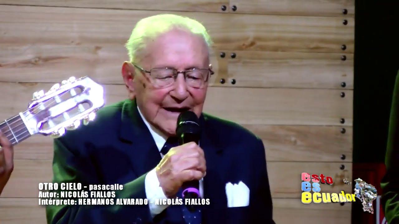 OTRO CIELO   PASACALLE   HERMANOS ALVARADO Y NICOLAS FIALLOS EN SUS 101 AÑOS DE CUMPLEAÑOS