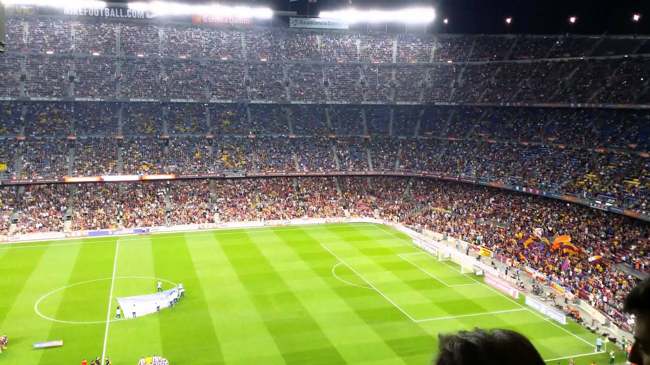Cant del barca nou camp 4k youtube - Camp nou 4k wallpaper ...