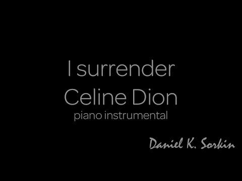 I Surrender - Celine Dion (piano cover + score)