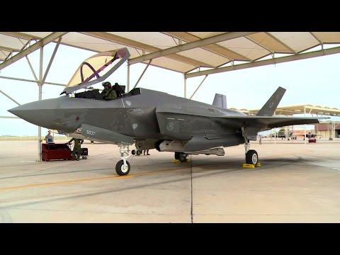 """Brigadier General Flies 1st """"Student"""" F-35 Sortie"""