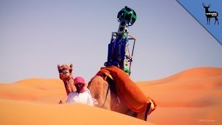 Why Google Used Camels to Map the Desert