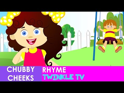 Chubby Cheeks Rhyme with Actions | Twinkle...