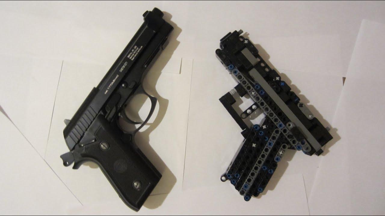 Lego Technic Pistol Instruction Youtube