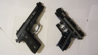Lego Technic Pistol Instruction