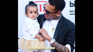 Red Carpet Rewind: Chris Brown Brings Out Baby Royalty for the 2015 Billboard Music Awards