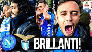 Download Video BRILLANTI! NAPOLI 2-1 LAZIO | LIVE REACTION SAN PAOLO 4K MP3 3GP MP4