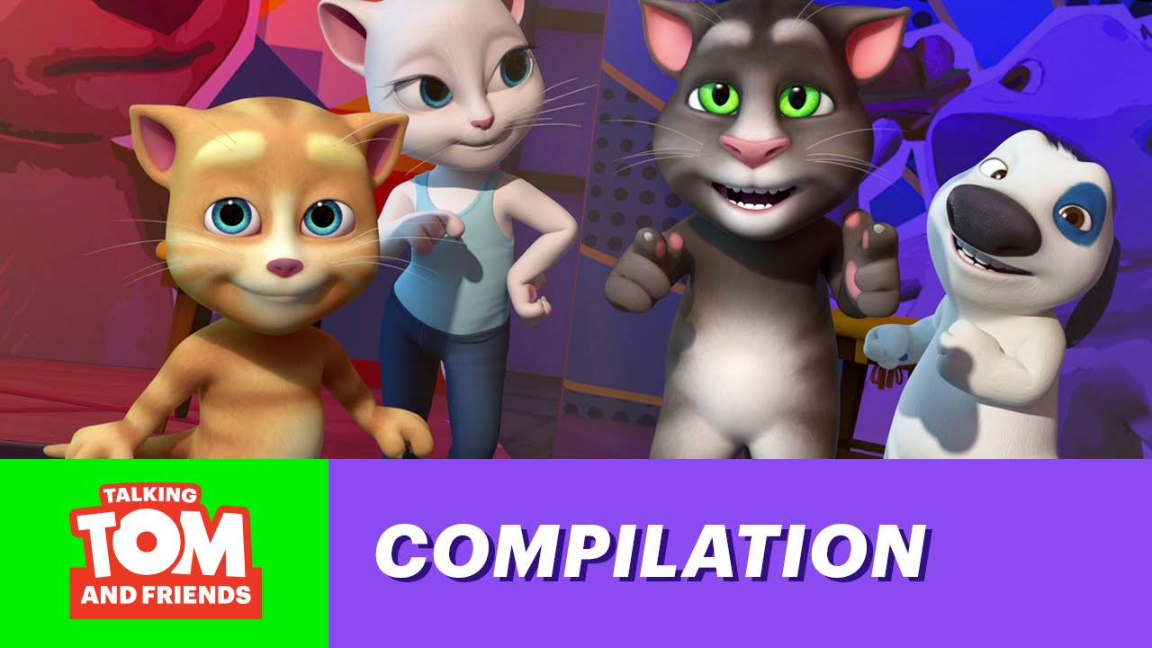 4e18605b40073 Talking Tom and Friends Top 5 - Let s Dance! - YouTube