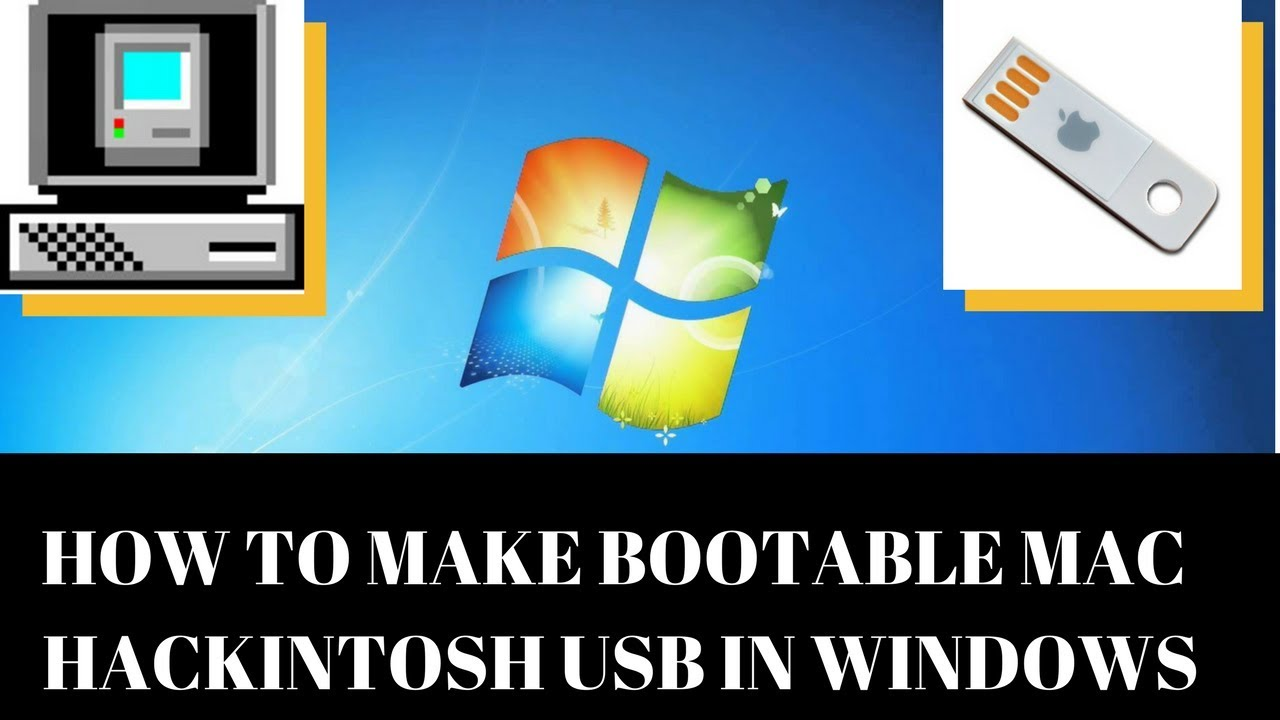 HOW TO MAKE BOOTABLE USB OF MAC (HACKINTOSH) IN WINDOWS TRANSMAC