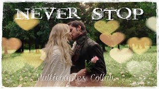 Cover images Never Stop || Multicouples Collab