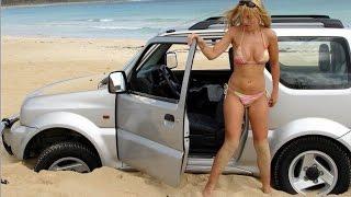 Автомобиль застрял в песке. Как выбраться в одиночку?
